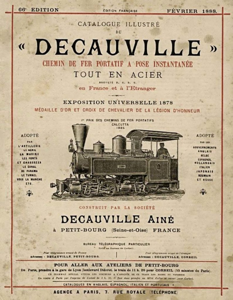 Catalogue illustre Decauville.