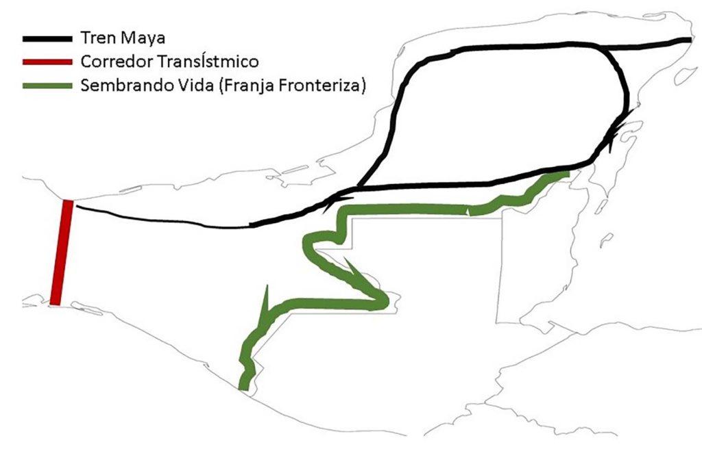Frontera sur y megaproyectos.